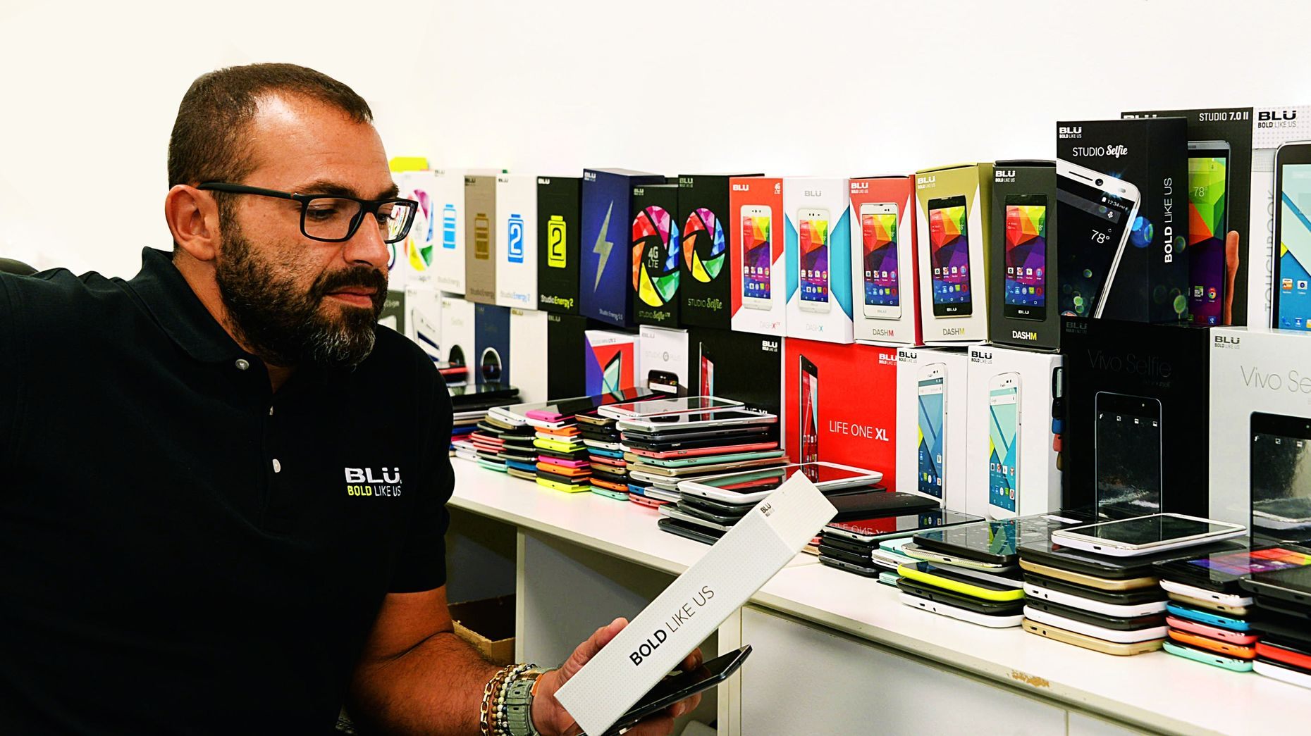 Blu Products CEO Samuel Ohev-Zion. Photo courtesy of Blu.