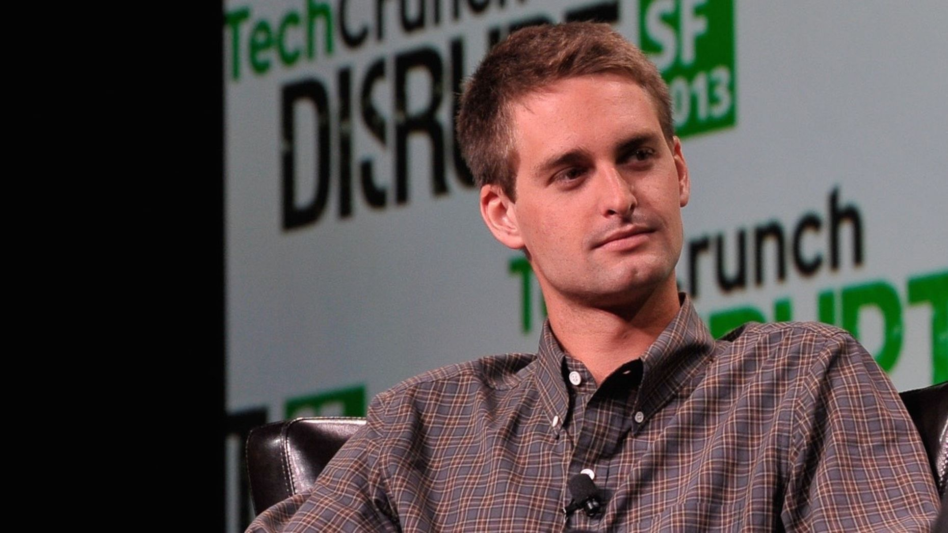 Evan Spiegel. Photo by Flickr/TechCrunch.