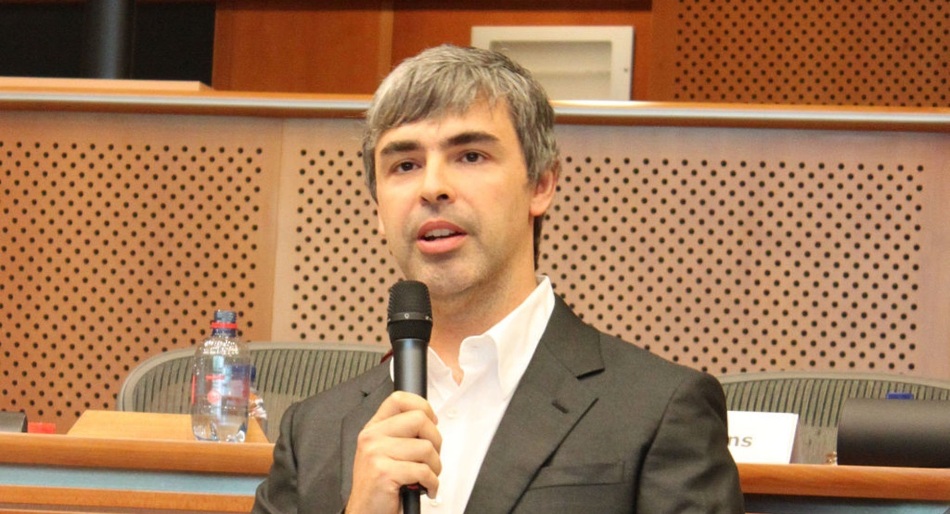 Google CEO Larry Page  Source: Wikimedia
