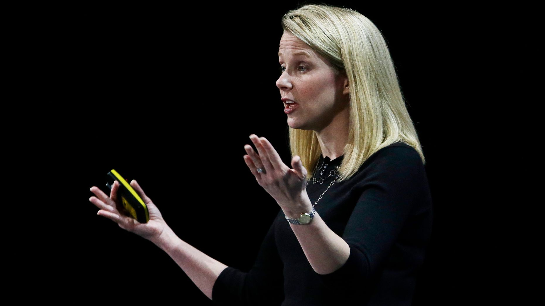 Marissa Mayer. Photo by AP.