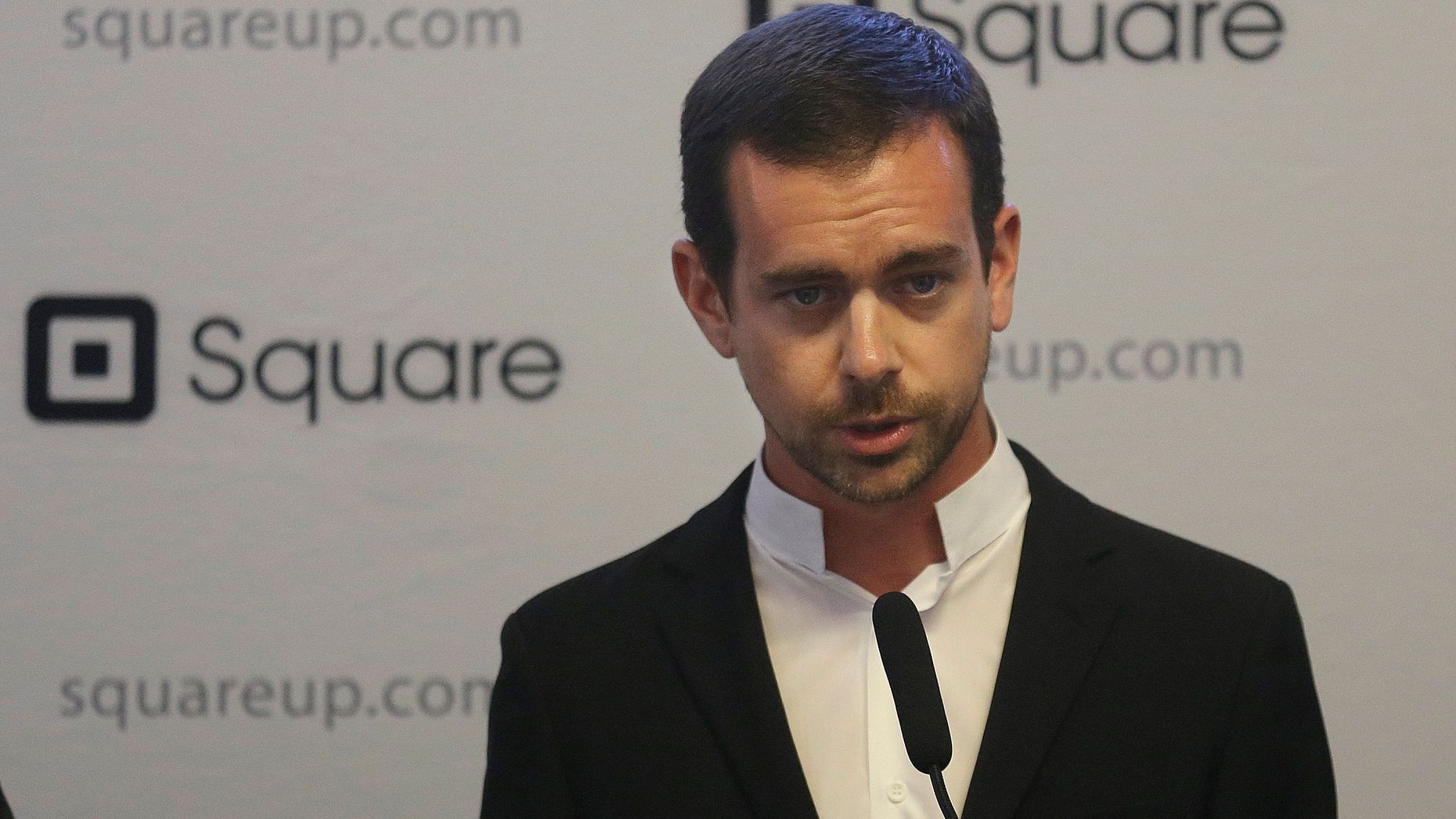 Square CEO Jack Dorsey. Photo by AP.