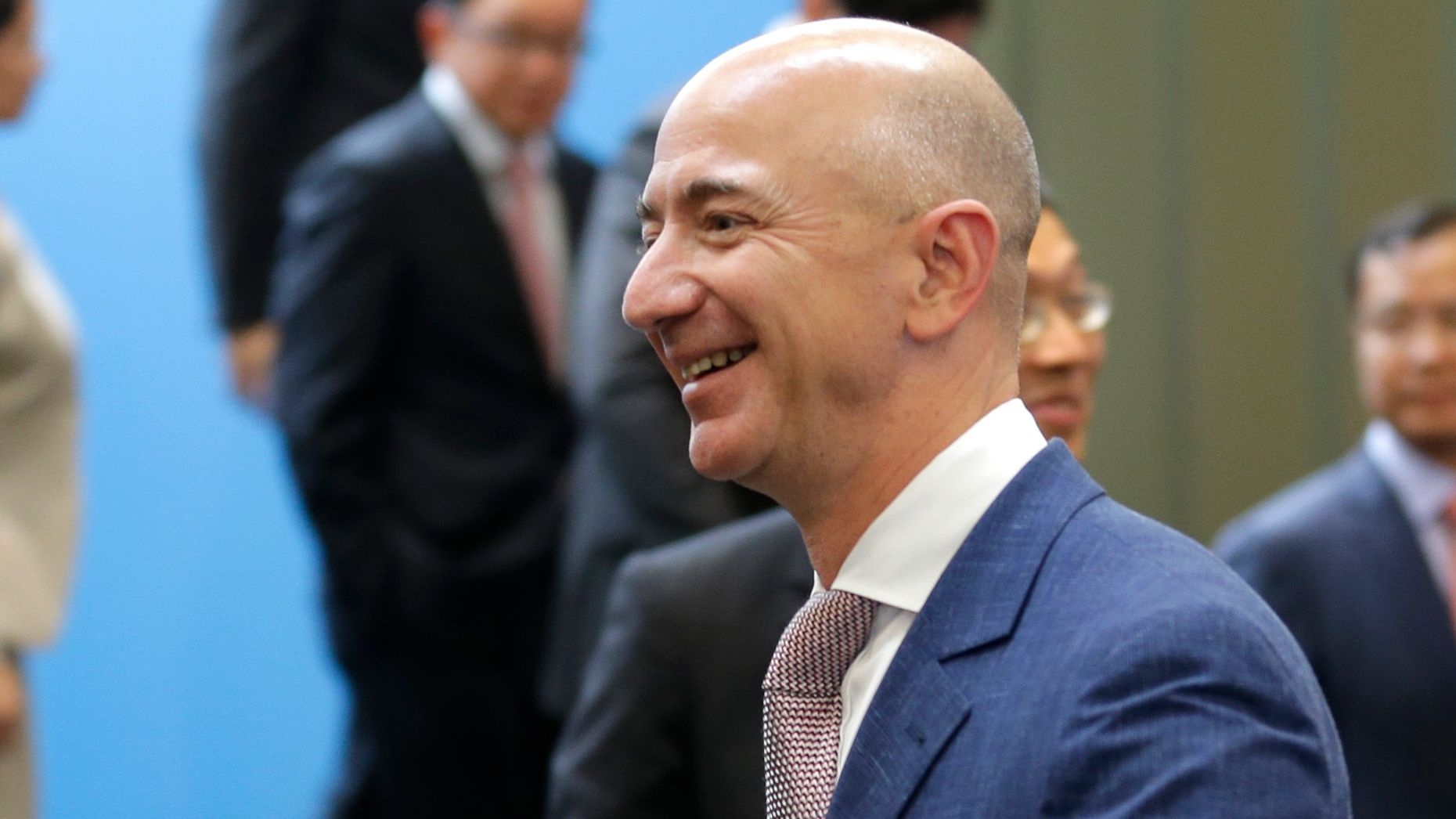 Jeff Bezos. Photo by AP.