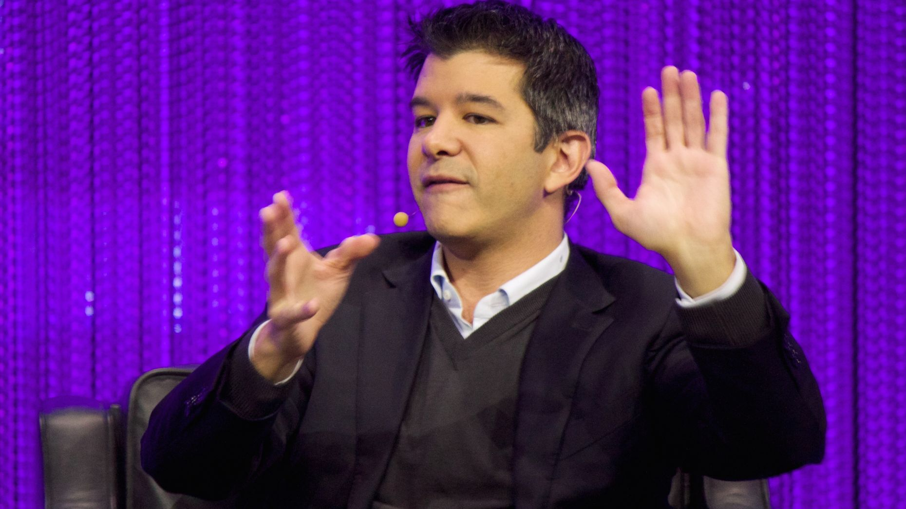 Travis Kalanick. Photo by Flickr/Adam Tinworth.
