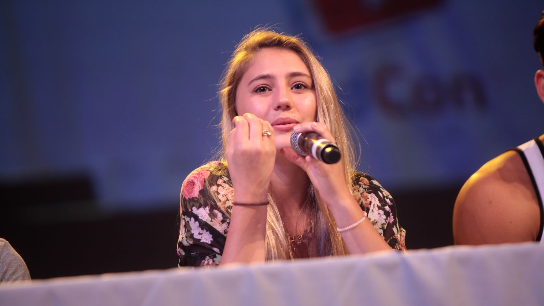 Lia Marie Johnson. Photo by Flickr/Gage Skidmore.