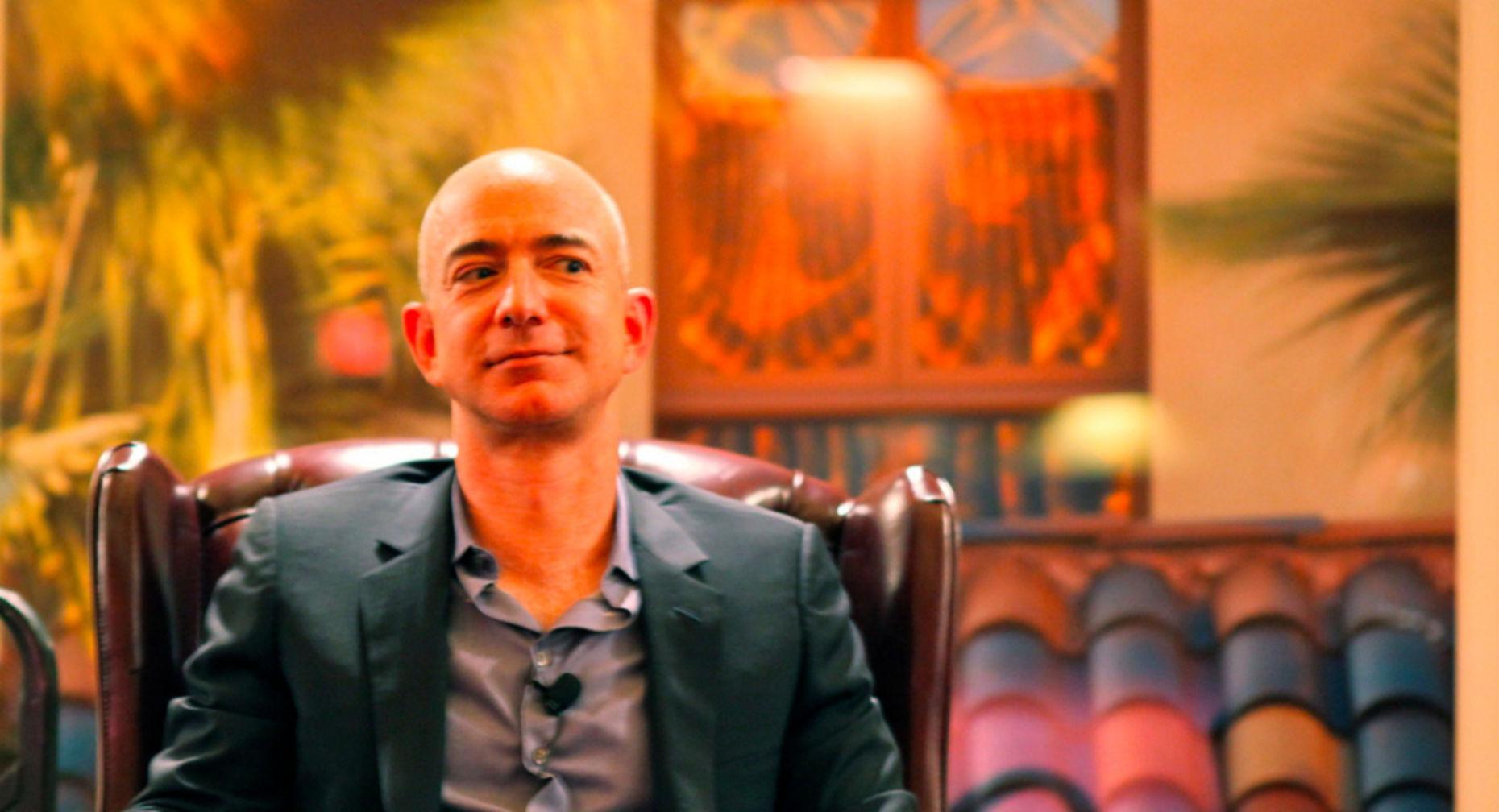 Jeff Bezos. Credit:  Steve Jurvetson via Flickr