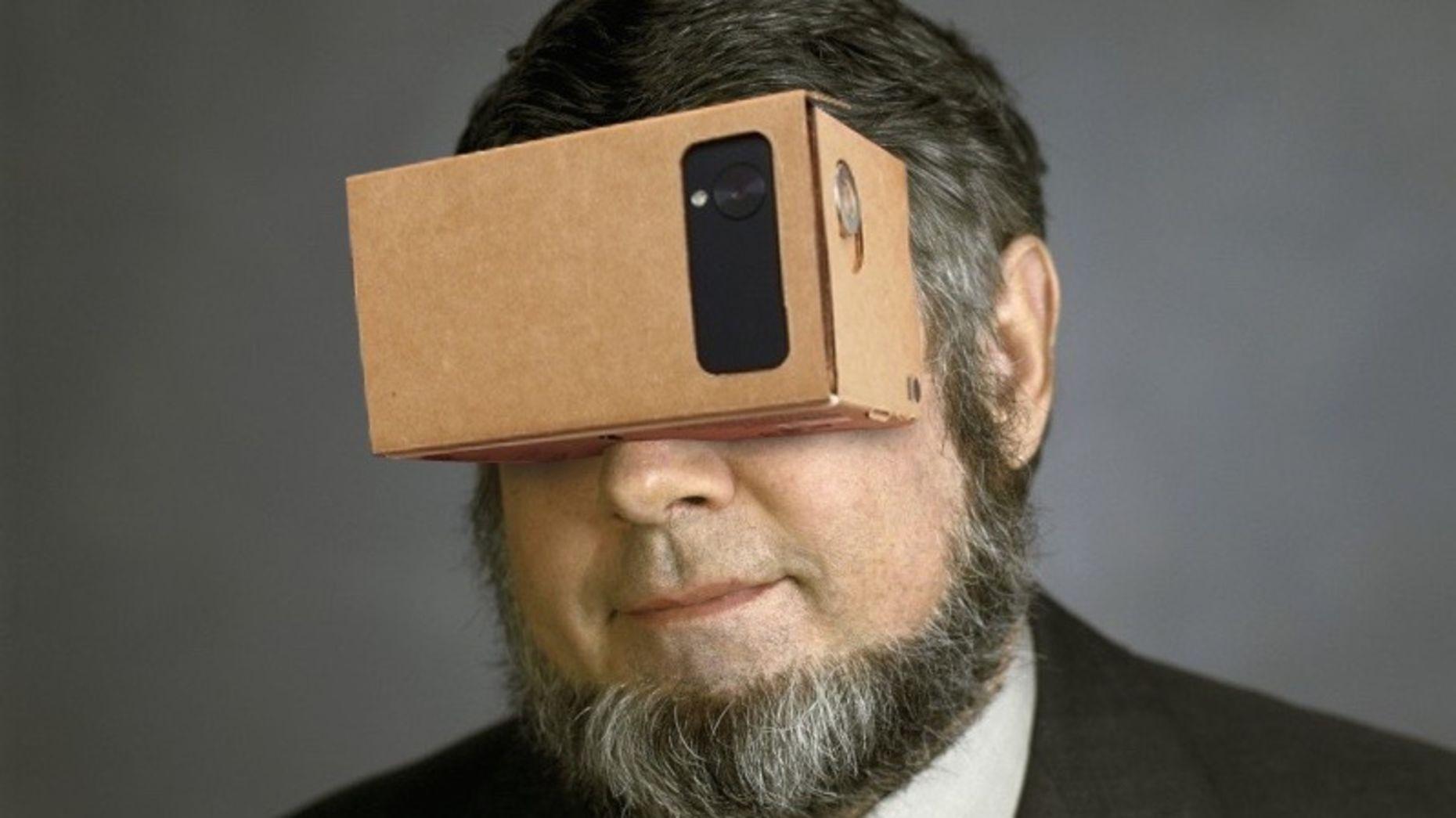 Google's VR cardboard. Photo by Flickr/sndrv.