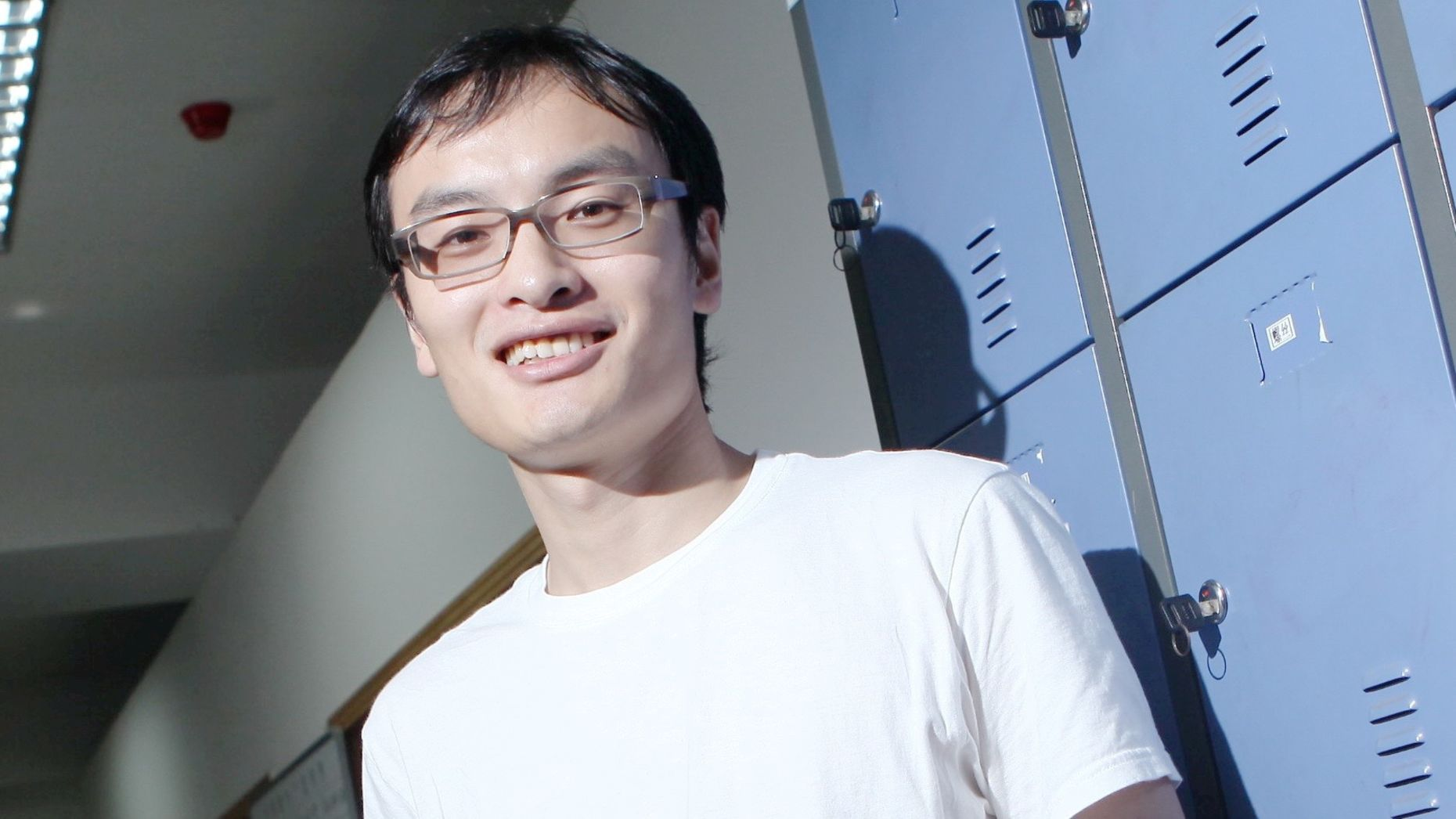 Frank Wang in 2010. Photo by AP.