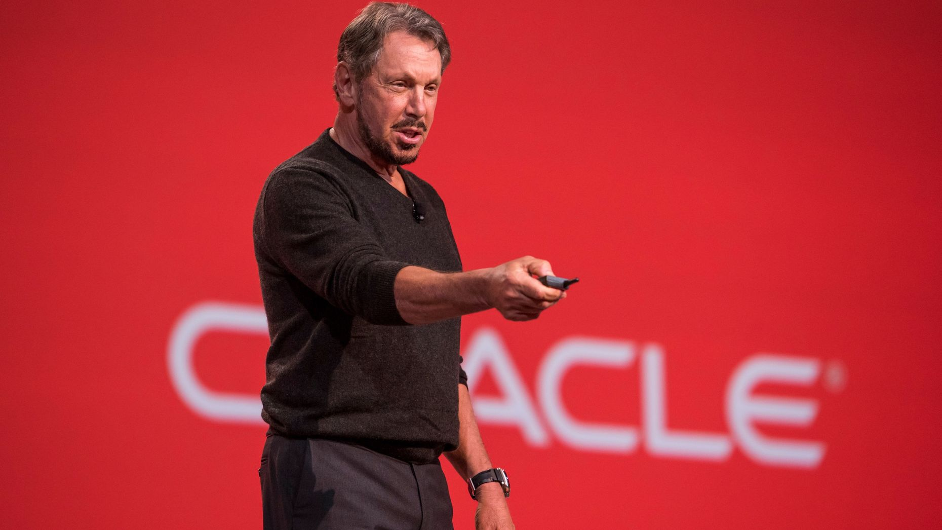Oracle executive chairman Larry Ellison. Photo by Bloomberg.