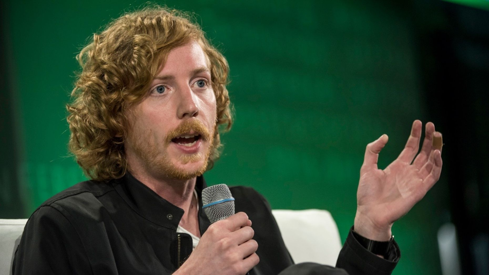 GitHub co-founder Chris Wanstrath. Photo by Bloomberg.