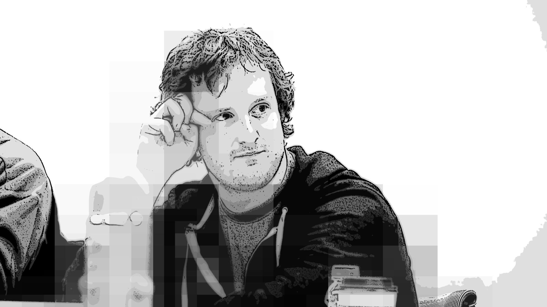 Ted Livingston, Kik's co-founder and CEO. Art by Matt Vascellaro.