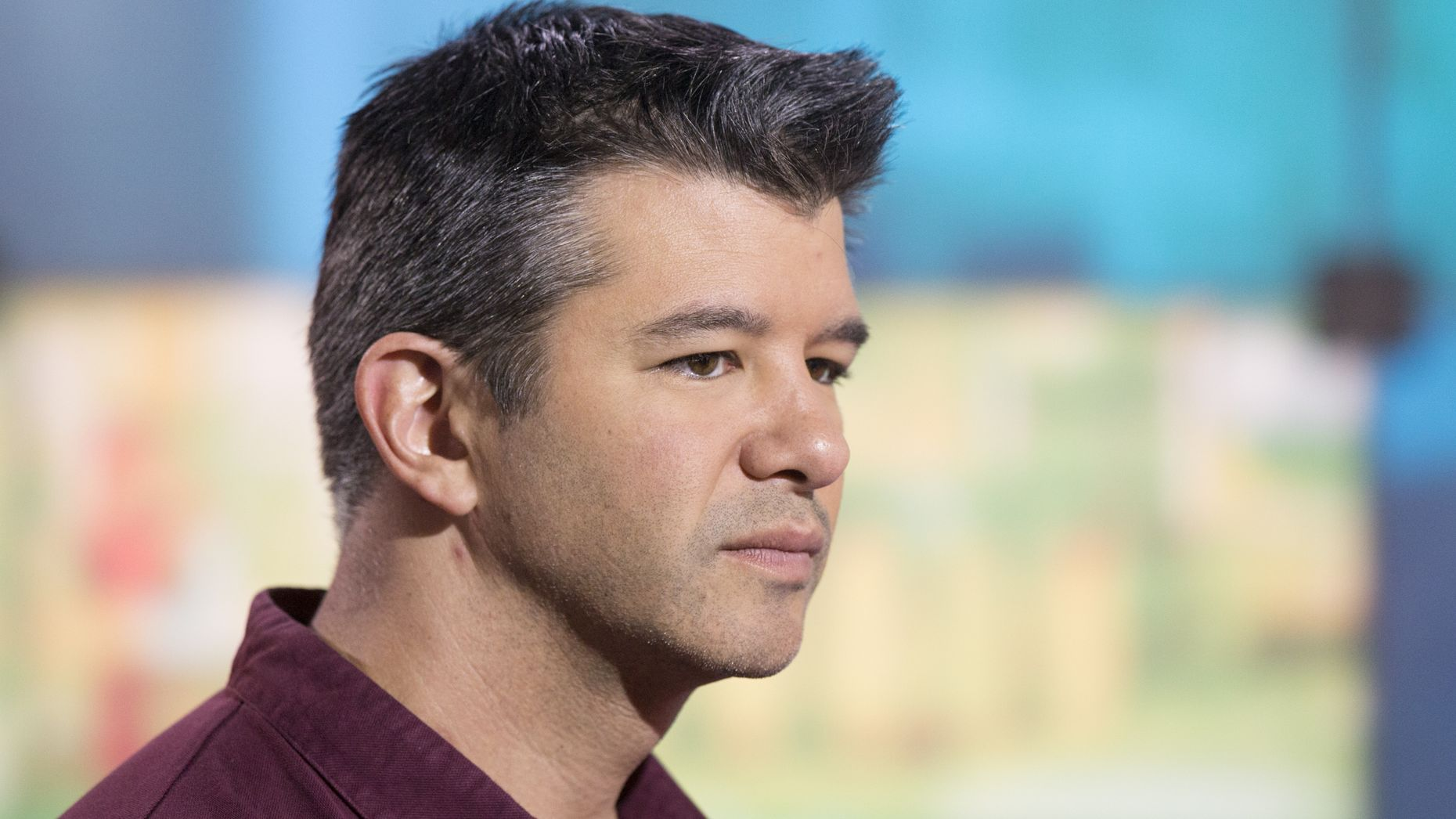Travis Kalanick, CEO of Uber, whose shares have been valued differently by different mutual funds. Photo by Bloomberg.
