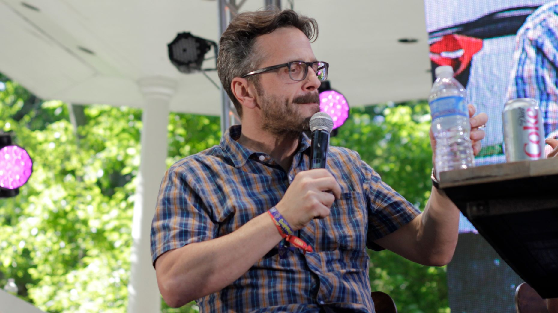Marc Maron. Photo by Flickr/Timothy Krause.
