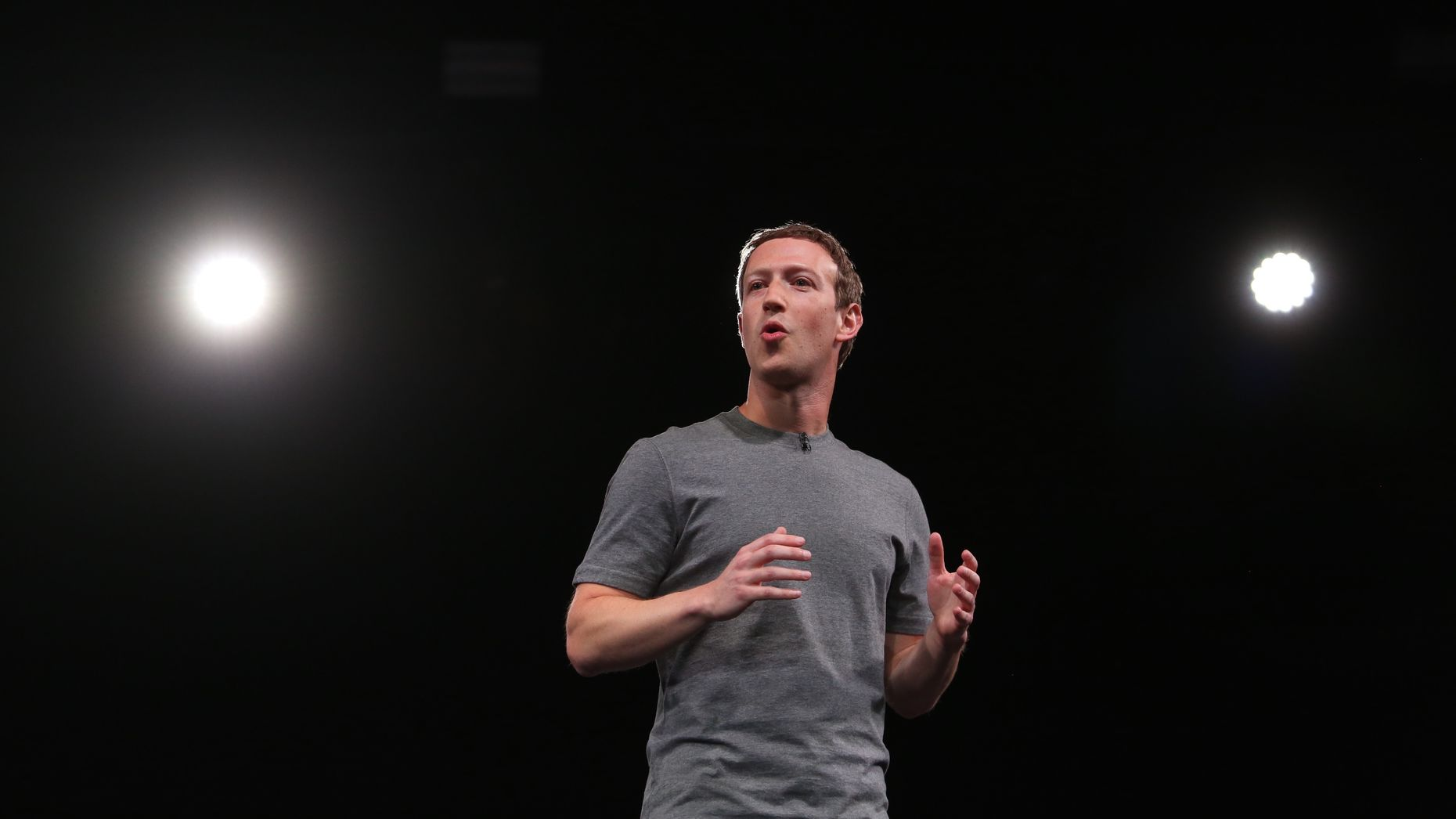 Mark Zuckerberg. Photo by Bloomberg.