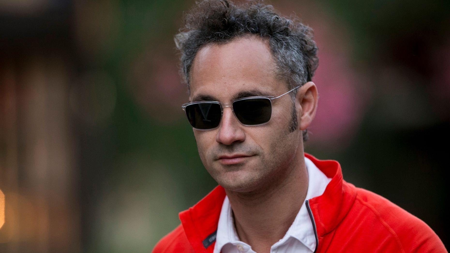 Palantir CEO Alexander Karp. Photo by Bloomberg.