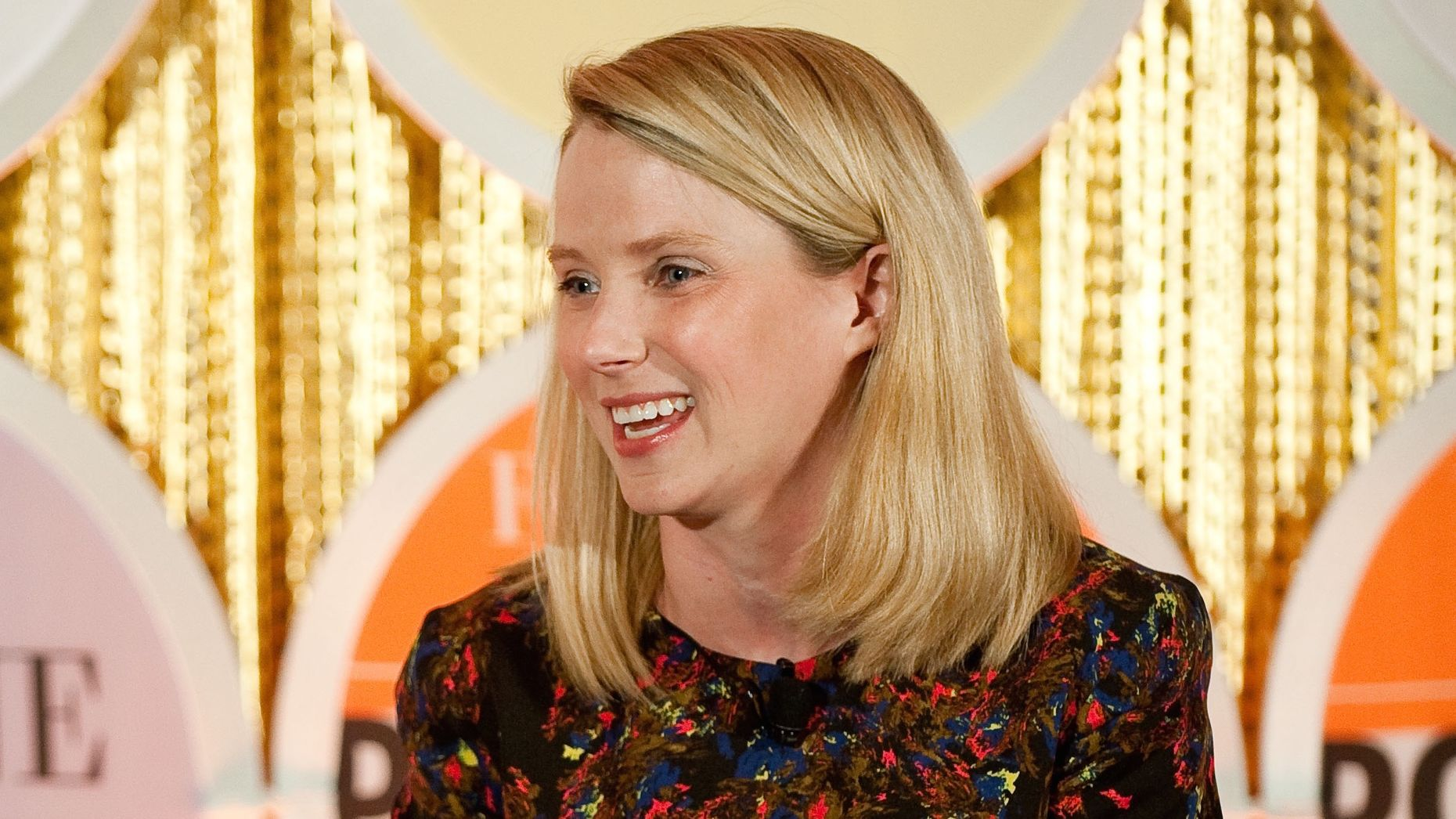 Marissa Mayer. Photo by Flickr/Fortune Live Media.