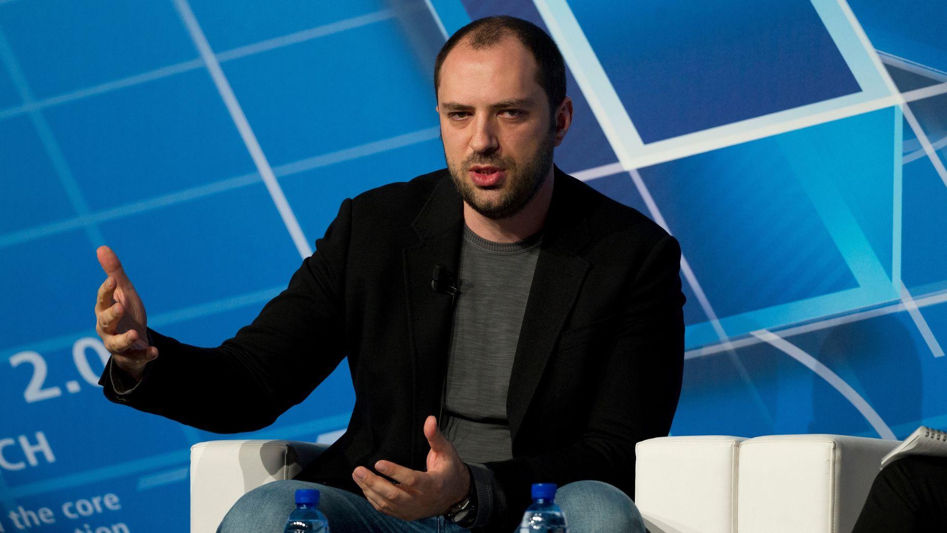 WhatsApp founder Jan Koum. Photo by Bloomberg.
