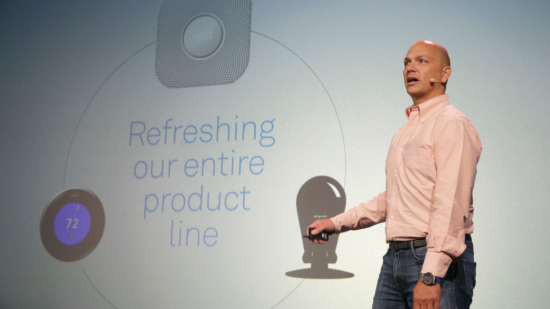 Tony Fadell. Photo by AP.