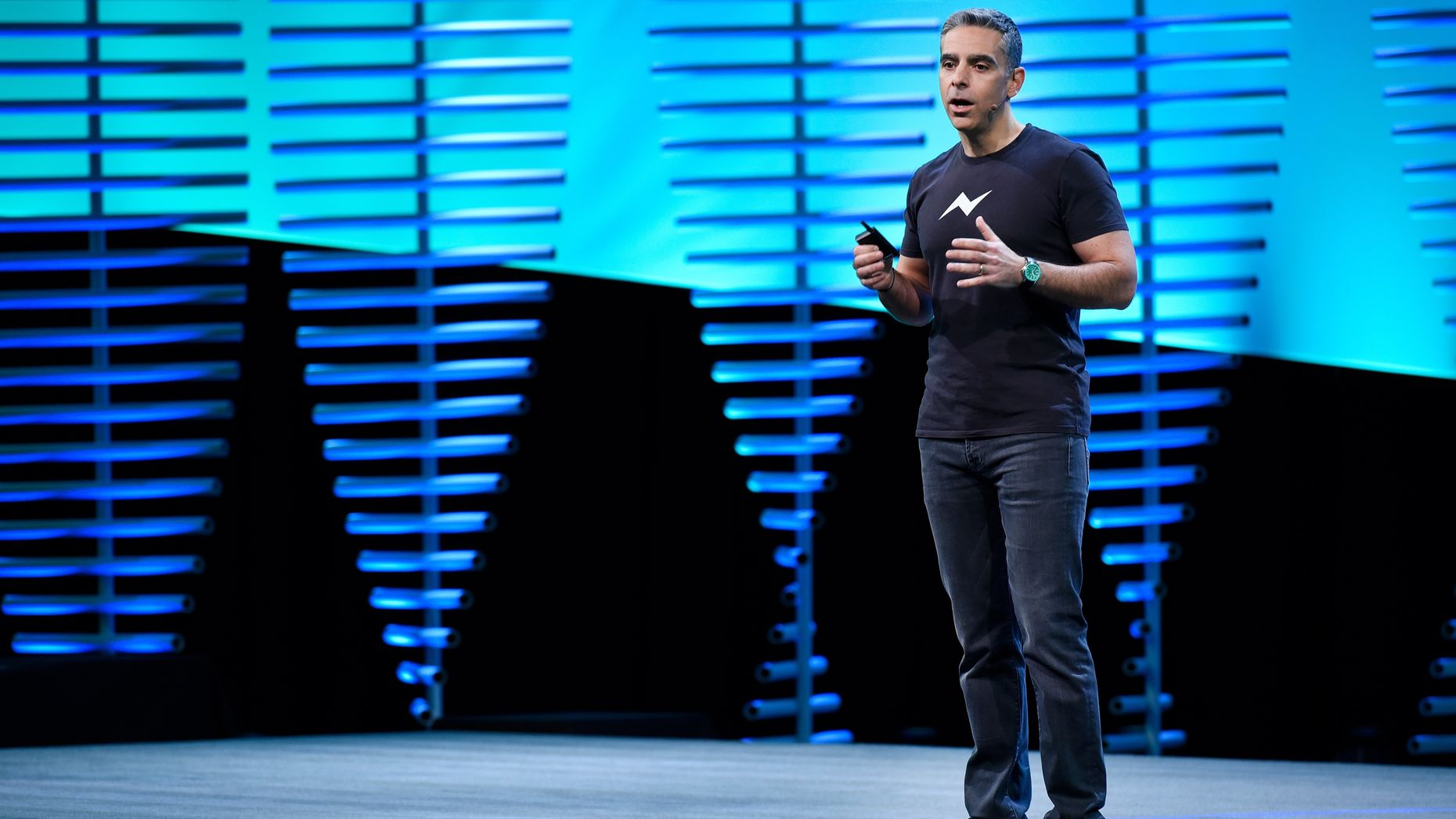 Facebook's VP for messaging products, David Marcus. Photo by Bloomberg.