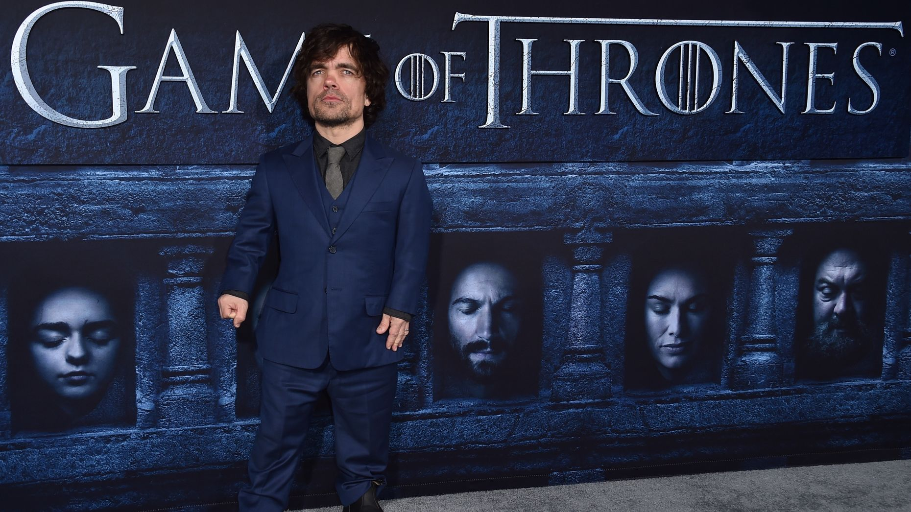 Game of Thrones star Peter Dinklage. Photo by AP.