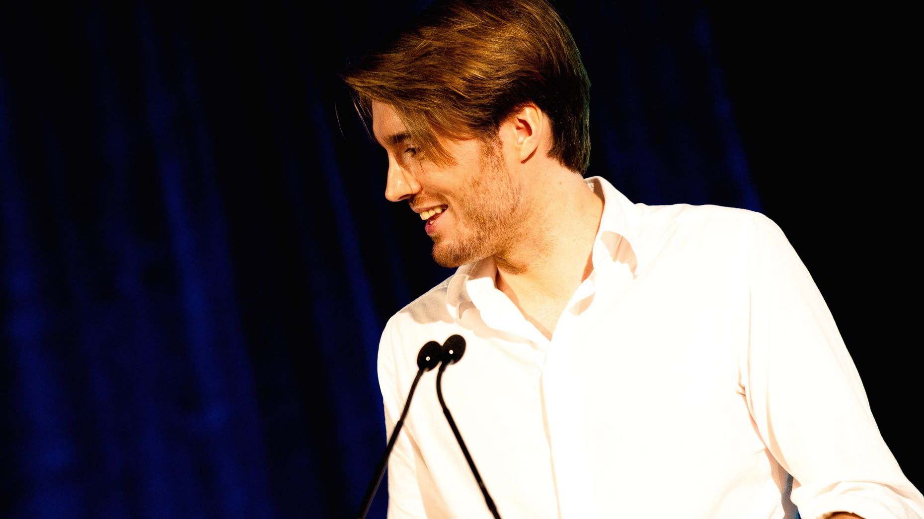 Mashable founder Pete Cashmore. Photo by Flickr/Josh Hallett.