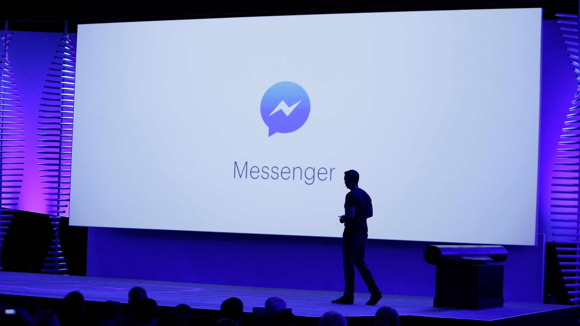 Facebook's VP for Messaging Products, David Marcus. Photo by AP.