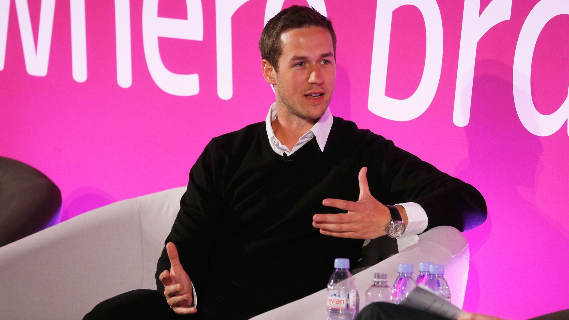 Snapchat's VP of content, Nick Bell. Photo by Getty Images.