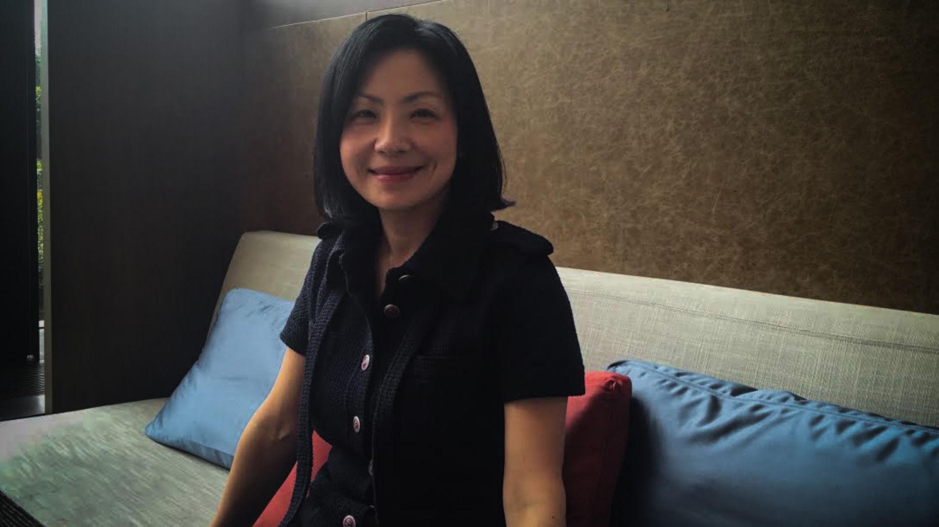 Magic Stone founder Jenny Zeng. Photo by Jessica E. Lessin.