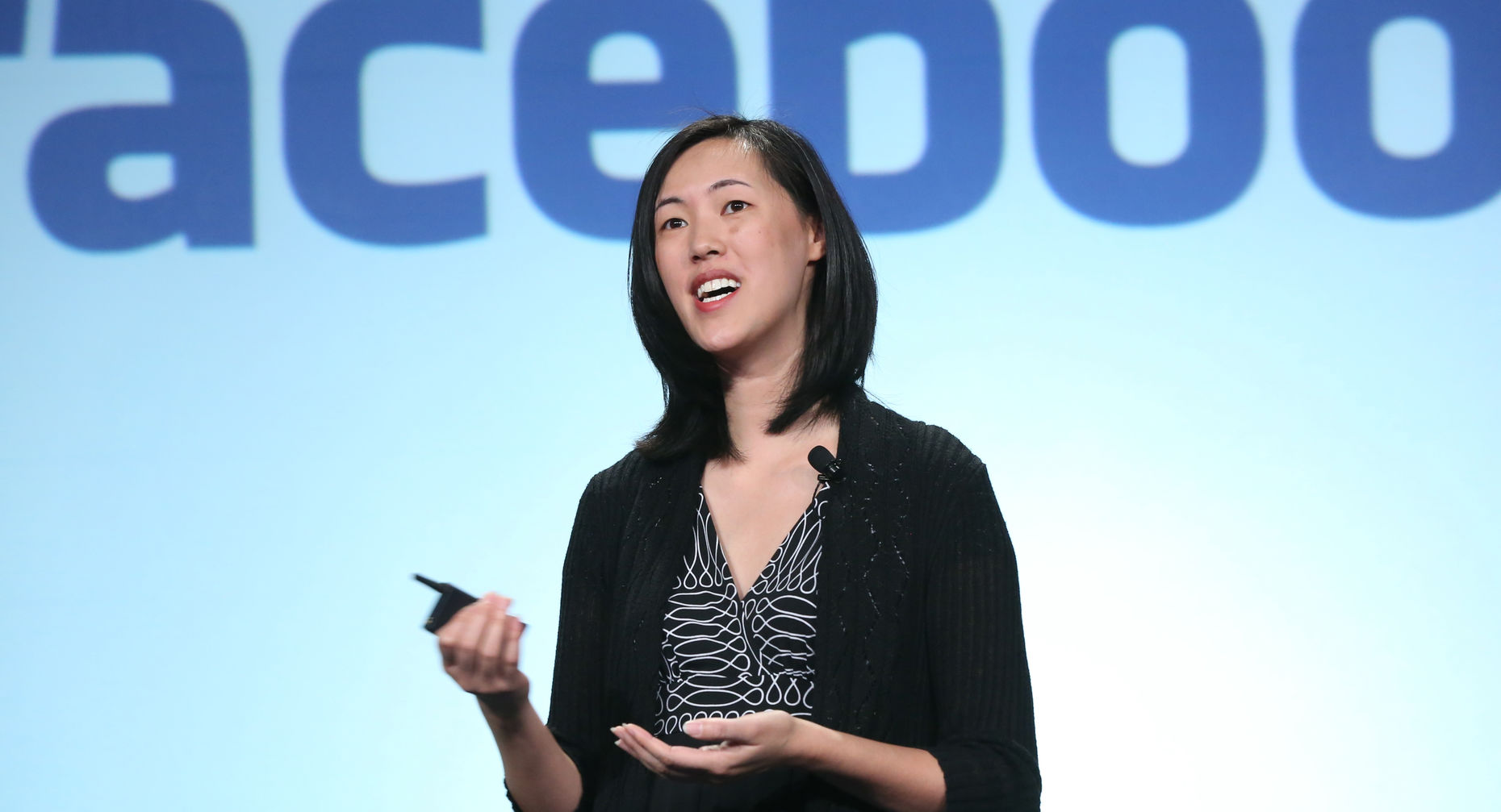 Facebook's Deb Liu speaks at this year's Money 2020 conference in Las Vegas. Source: Facebook.