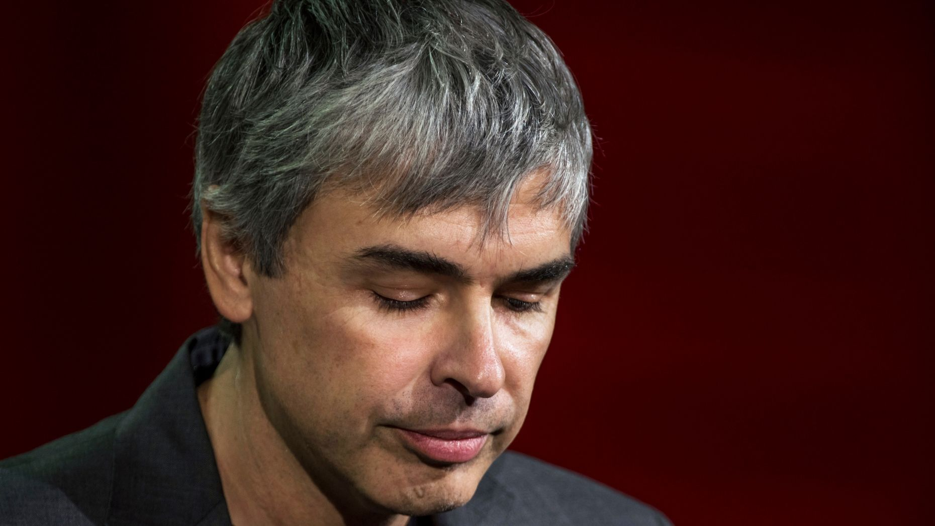 Alphabet CEO Larry Page. Photo by Bloomberg.
