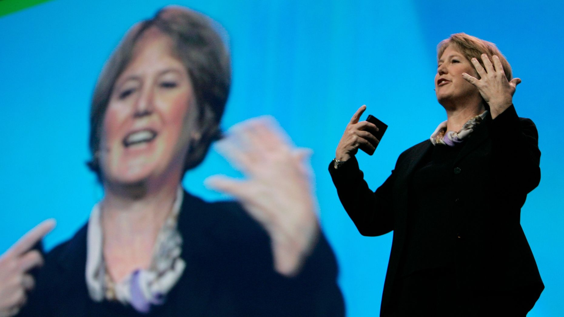 Google Senior Vice President for Enterprise, Diane Greene. Photo by AP.