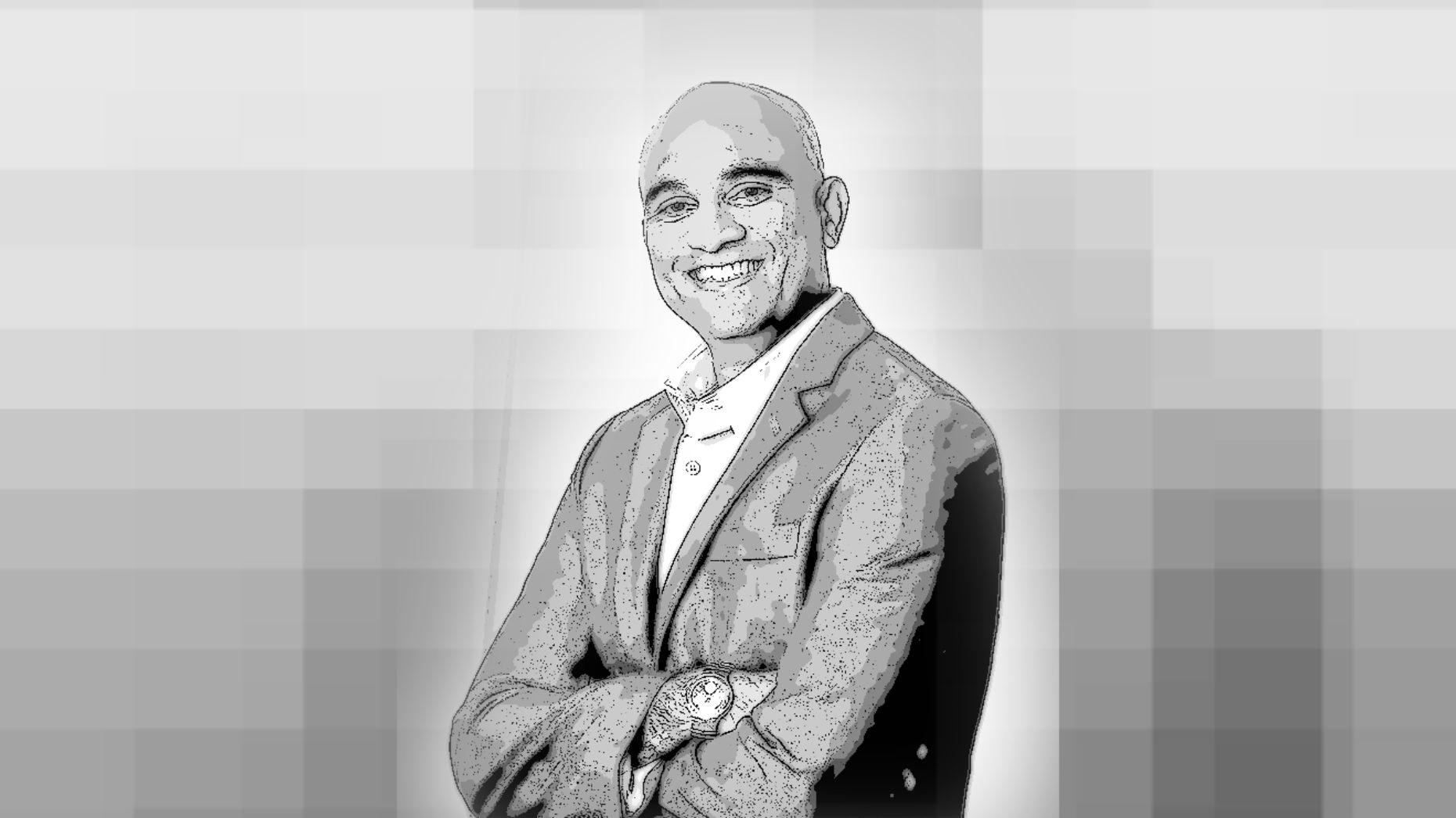 Himagiri Mukkamala, GE's Head of Engineering for Predix. Art by Matt Vascellaro.