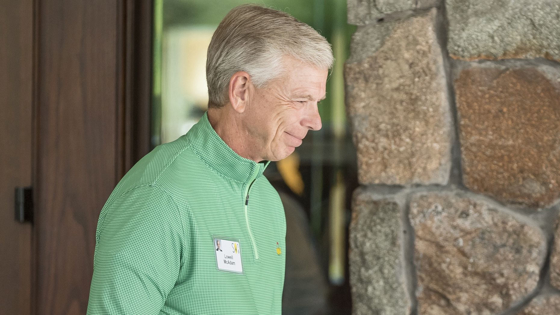 Verizon CEO Lowell McAdam at Sun Valley this week. Photo by Bloomberg.