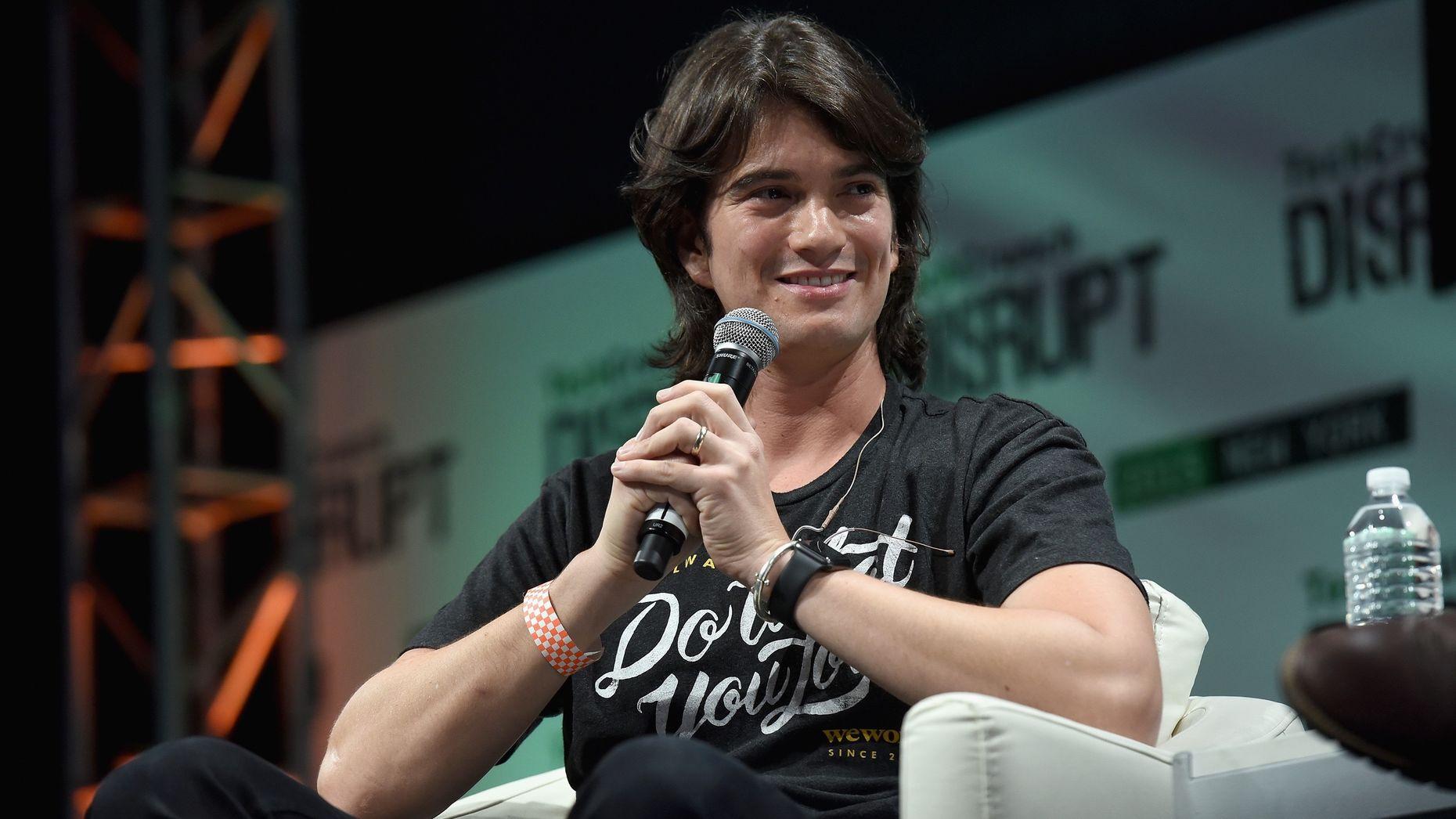 WeWork CEO Adam Neumann. Photo by Flickr/TechCrunch.