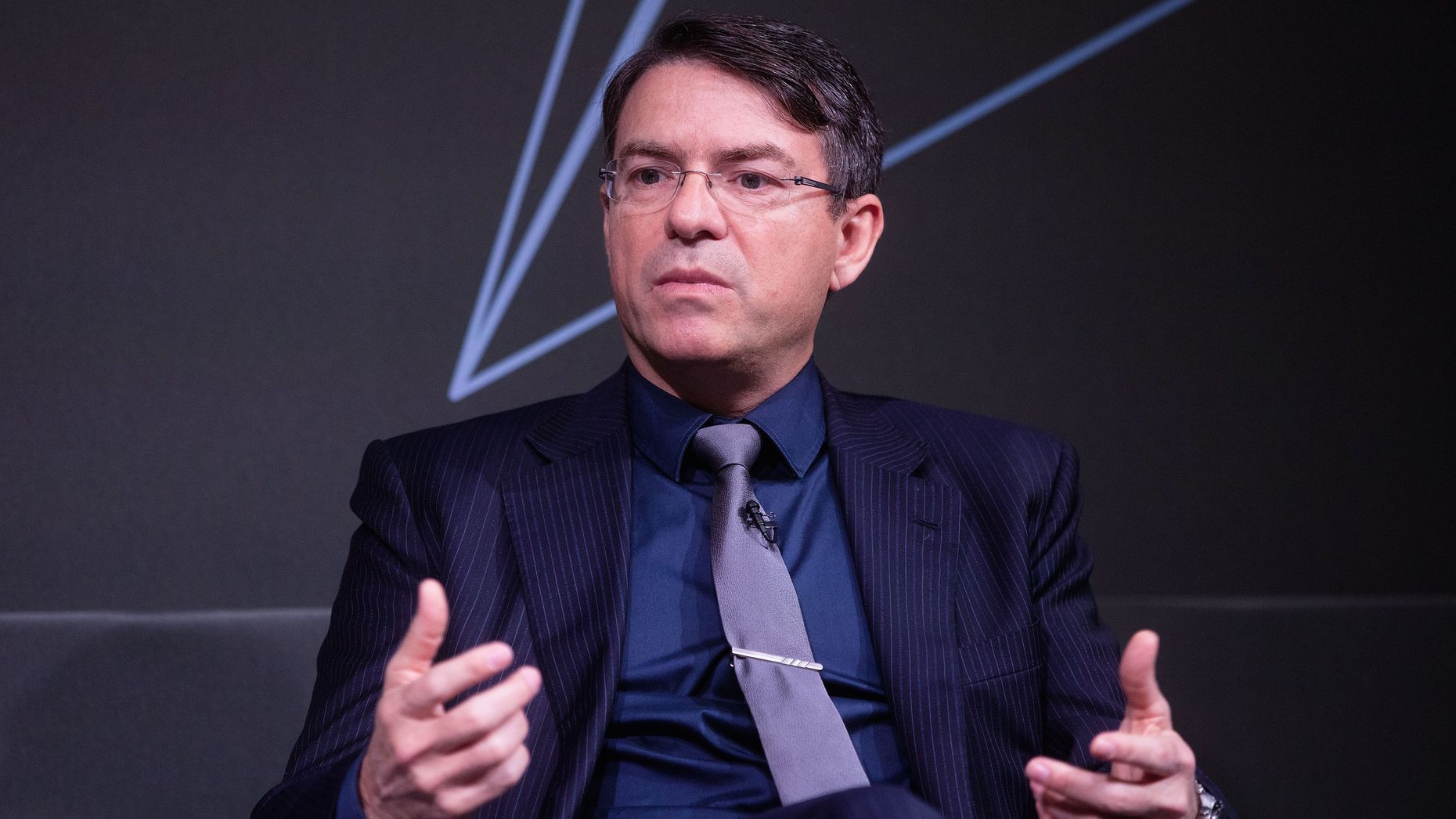 Symphony Communication Services CEO David Gurle. Photo by Bloomberg.