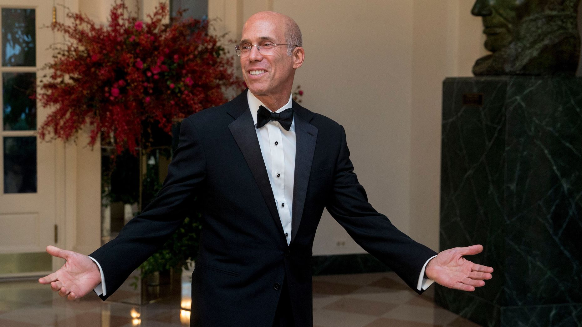Dreamworks Animation CEO Jeffrey Katzenberg. Photo by Bloomberg.