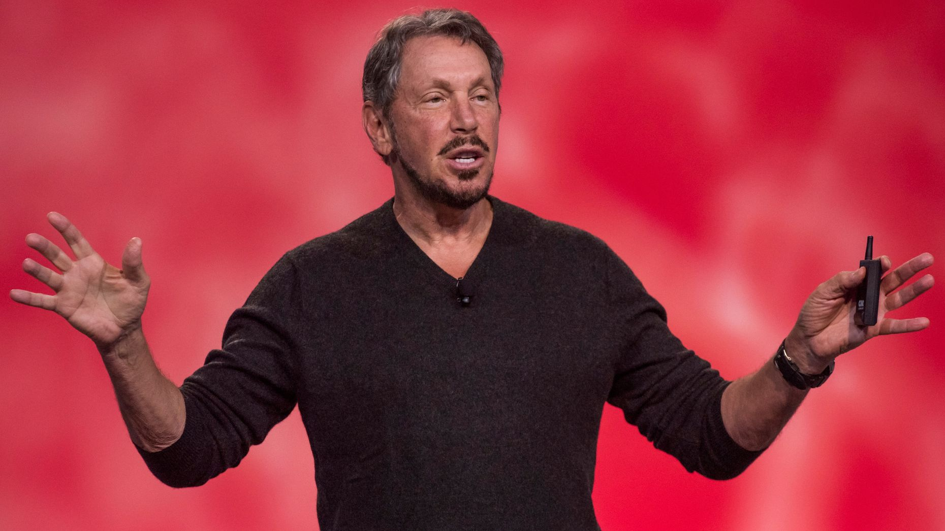 Oracle co-founder Larry Ellison. Photo by Bloomberg.