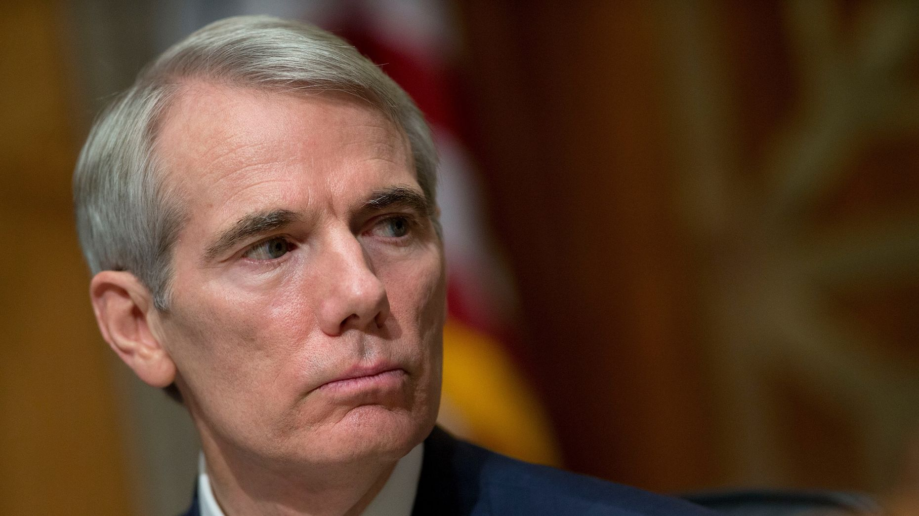 Sen. Rob Portman. Photo by Bloomberg.