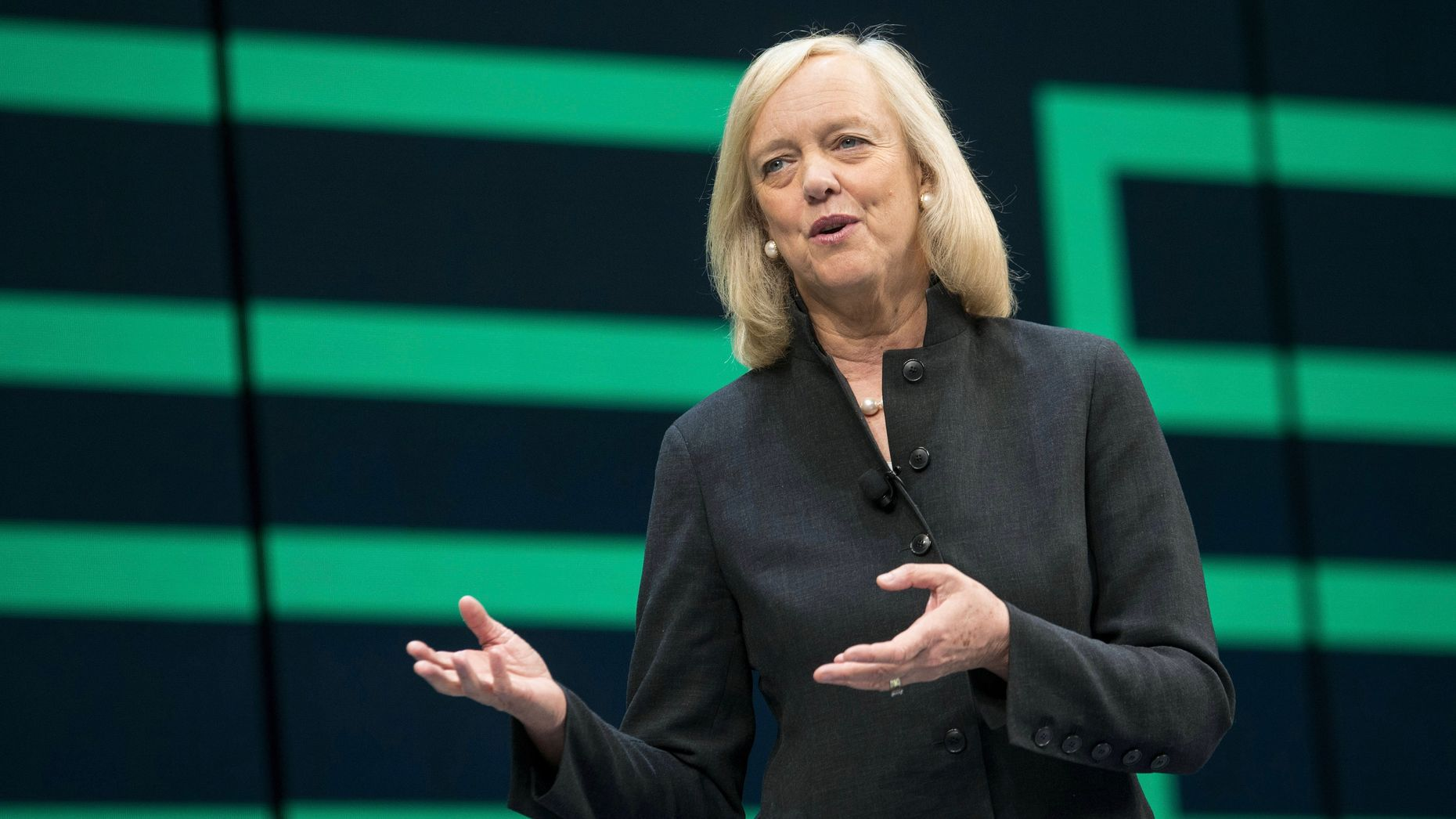 Hewlett Packard Enterprise CEO Meg Whitman. Photo by Bloomberg.