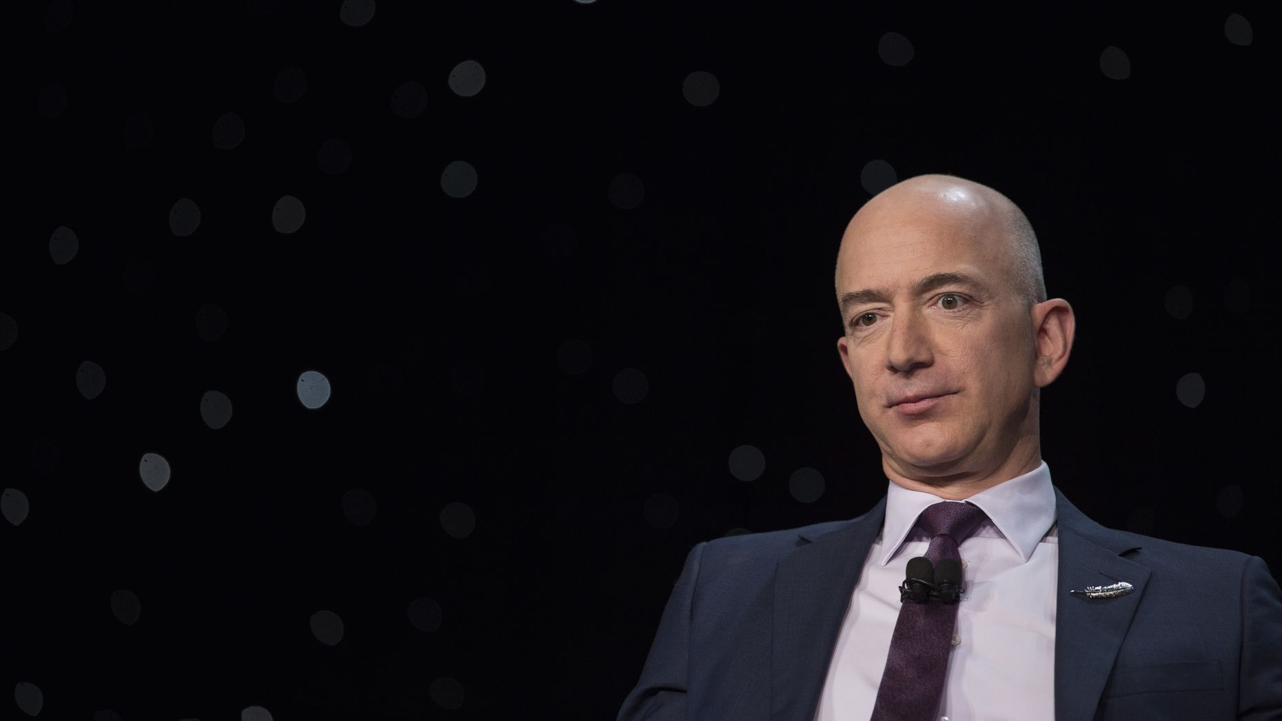 Amazon CEO Jeff Bezos. Photo by Bloomberg.