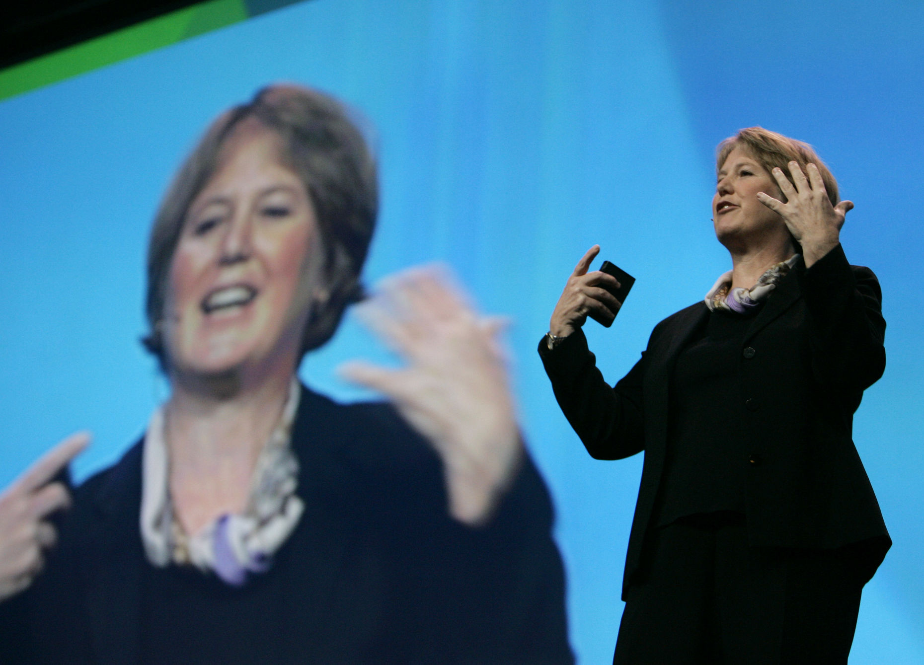 Diane Greene of Google. Photo by Associated Press.