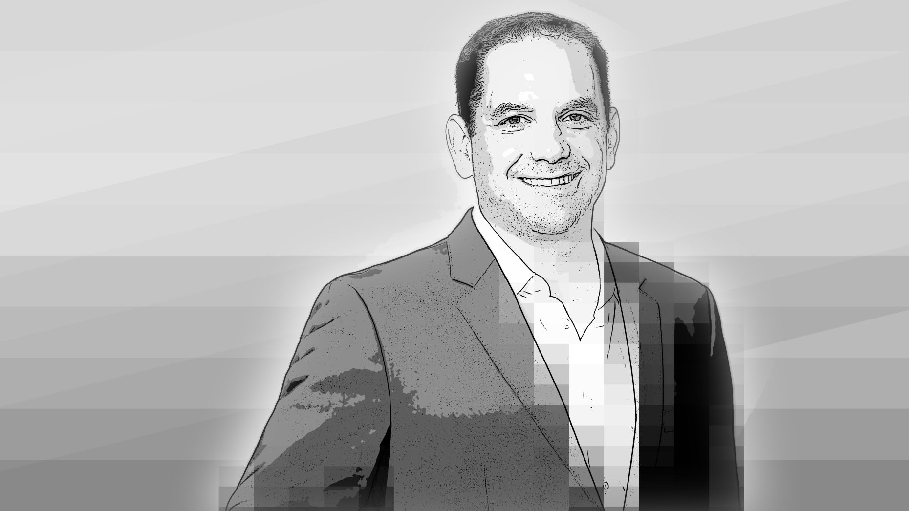 Andrew Morse, executive vice president of CNN US and head of CNN digital worldwide. Art by Matt Vascellaro.