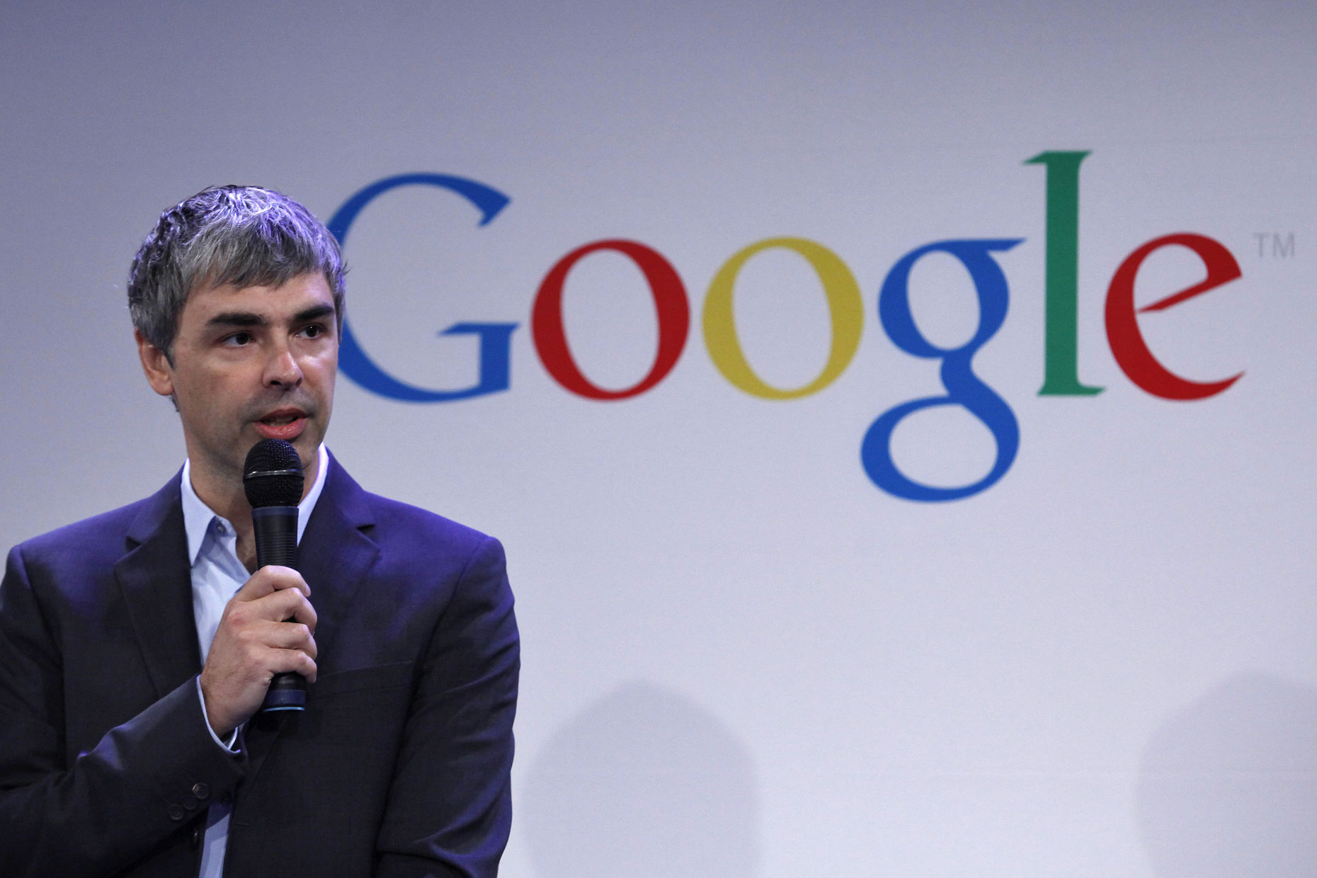 Google CEO Larry Page. Credit: Reuters