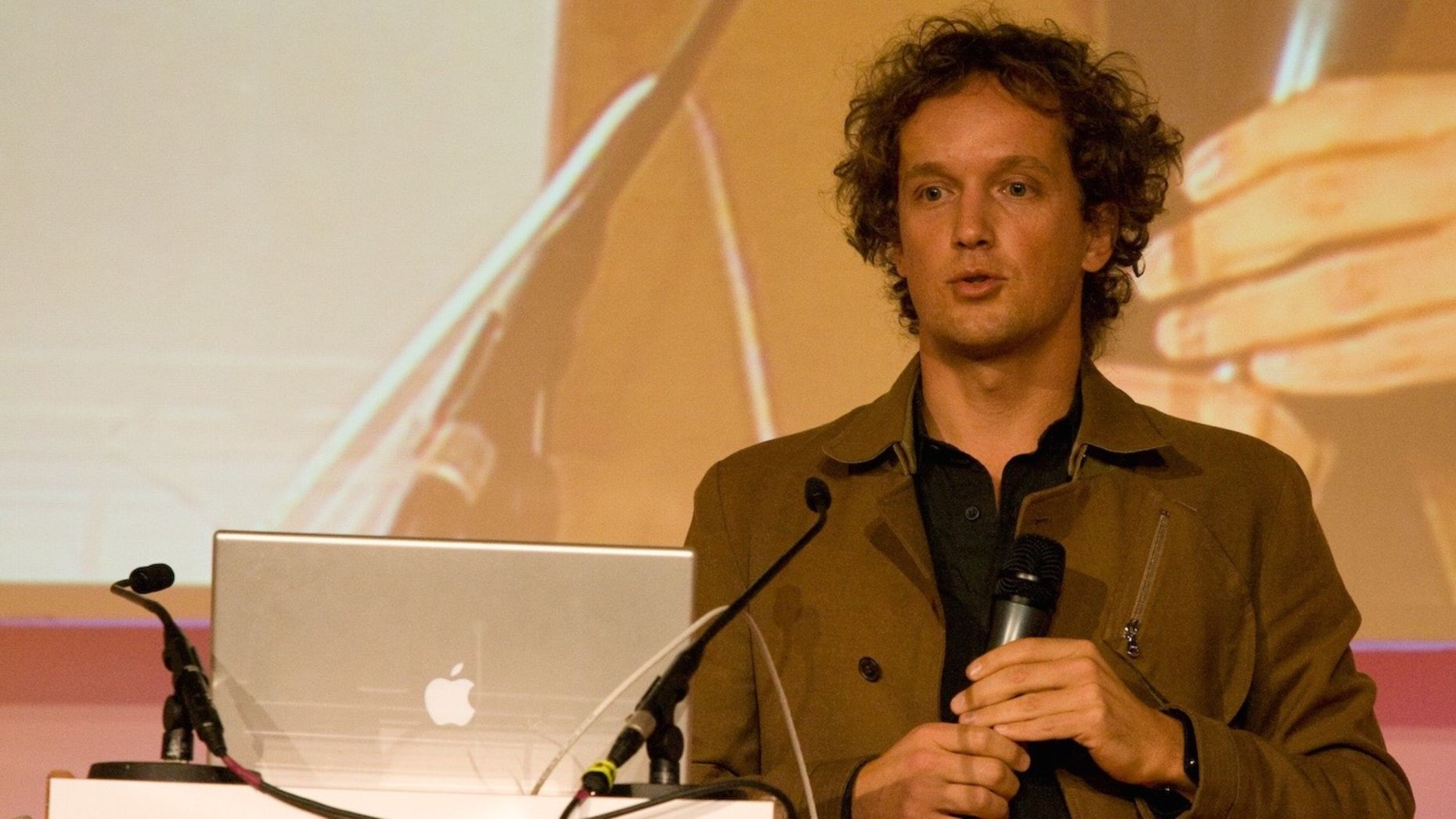 August Home co-founder Yves Behar. Photo by Flickr/Eirik Solheim.