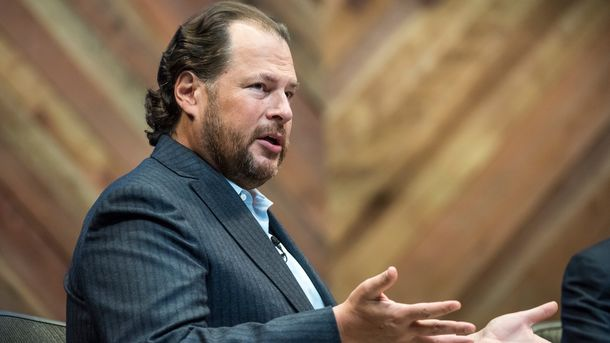 At Salesforce's Big Show, the Pitch is More Dream than Reality