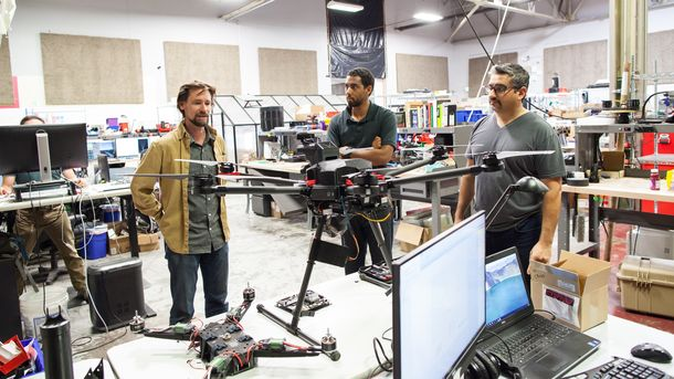 Silicon Valley's Drone Hunters