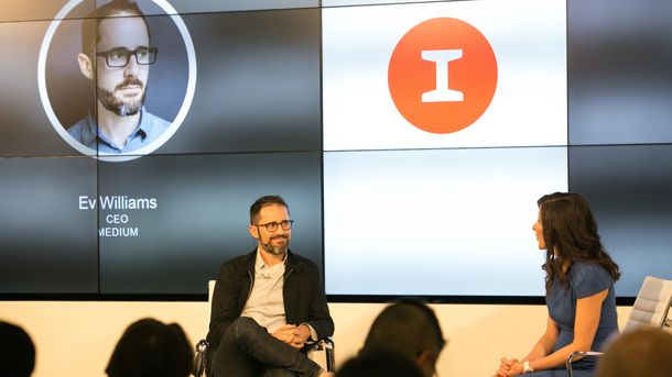 Evan Williams Talks Advertising, Snapchat and Twitter