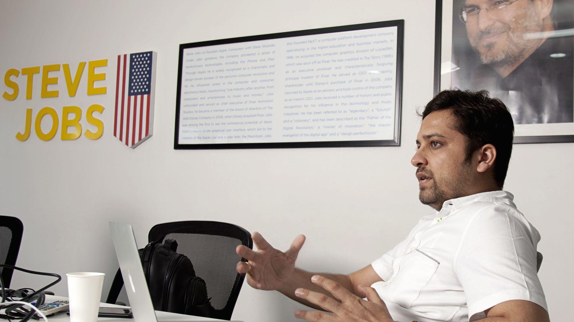 Flipkart CEO Binny Bansal. Photo by Bloomberg.