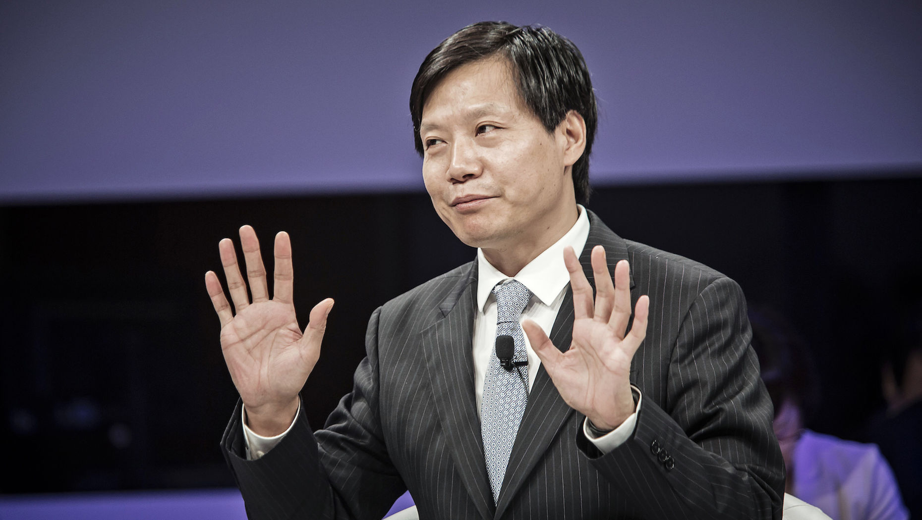 Xiaomi Chairman and CEO Lei Jun. Photo by Bloomberg.