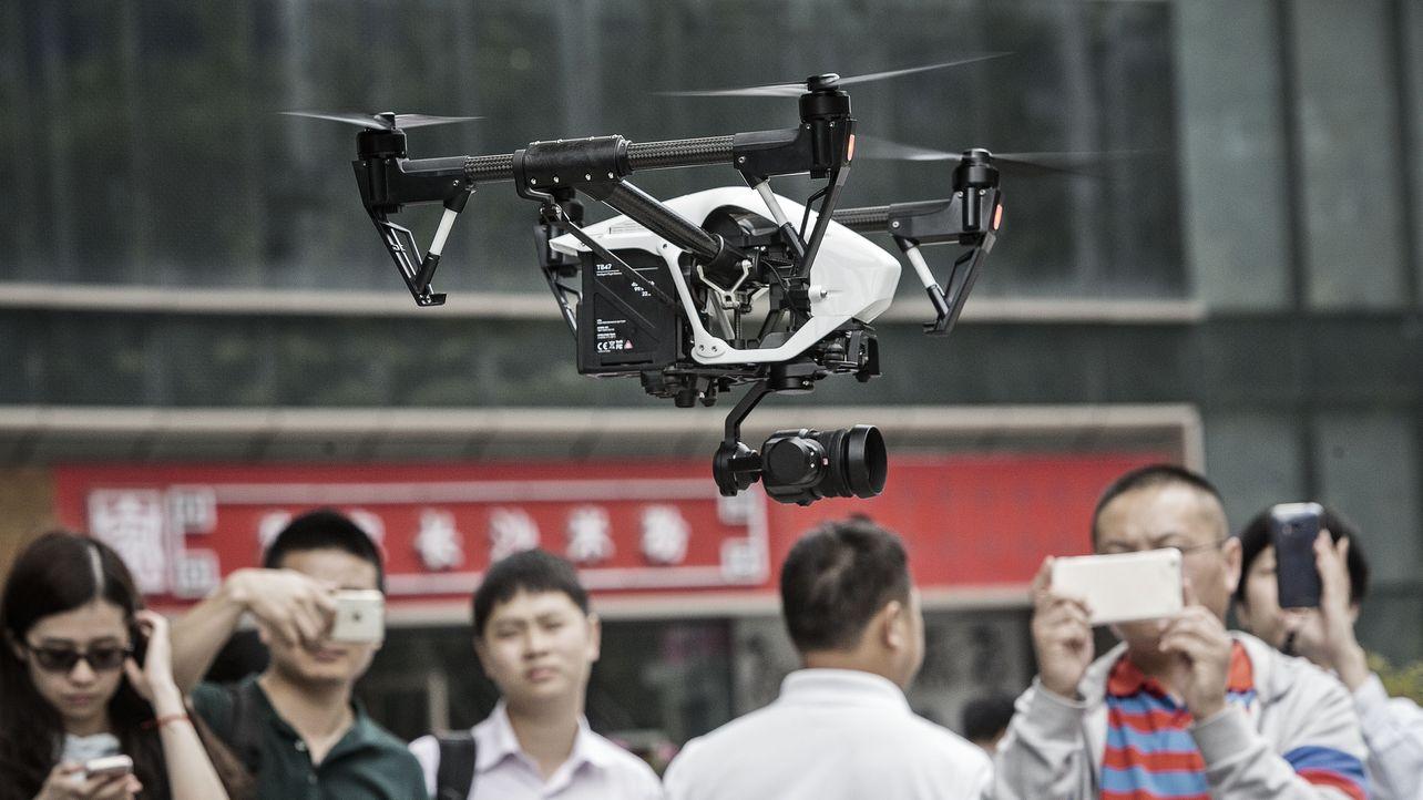 To Head Off Slowdown, Drone Leader DJI Targets Businesses