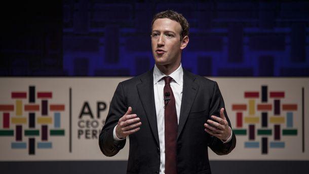 Runner Up for Person of 2017: Mark Zuckerberg